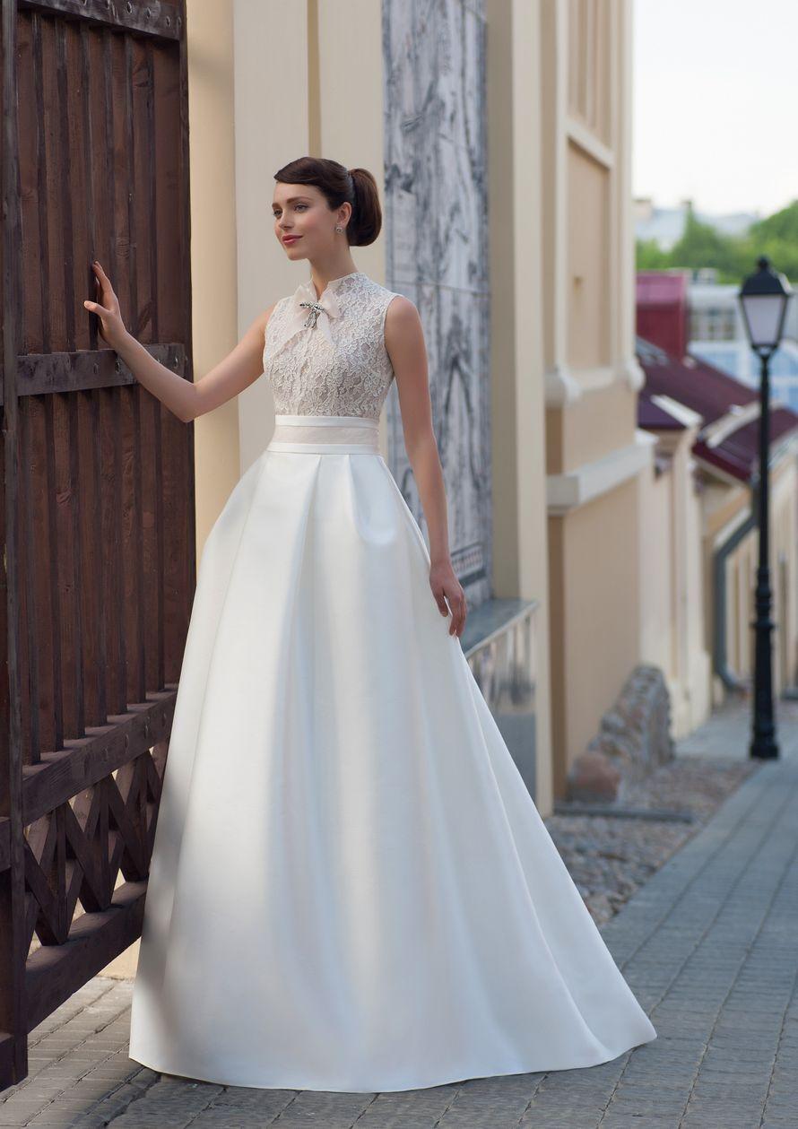 Платье а силуэта для невесты