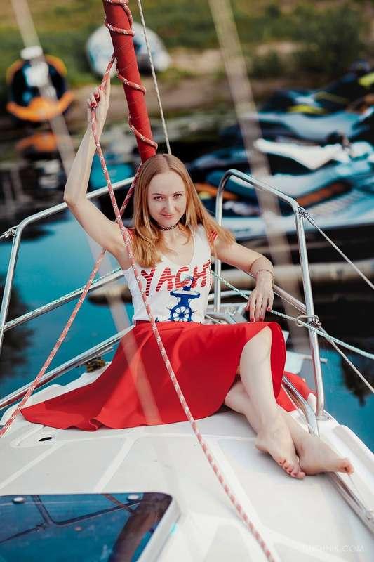 Фото 11474512 в коллекции Аренда парусной яхты с алыми парусами для фотосессий - Аренда яхты Паруса-нн
