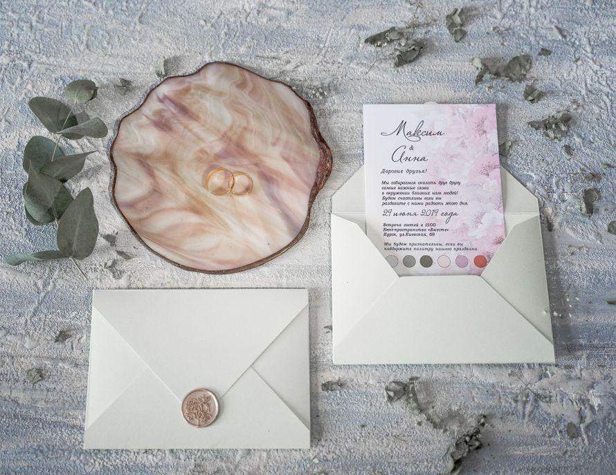 Фото 19095154 в коллекции Портфолио - Свадебные приглашения от Нины Лыковой