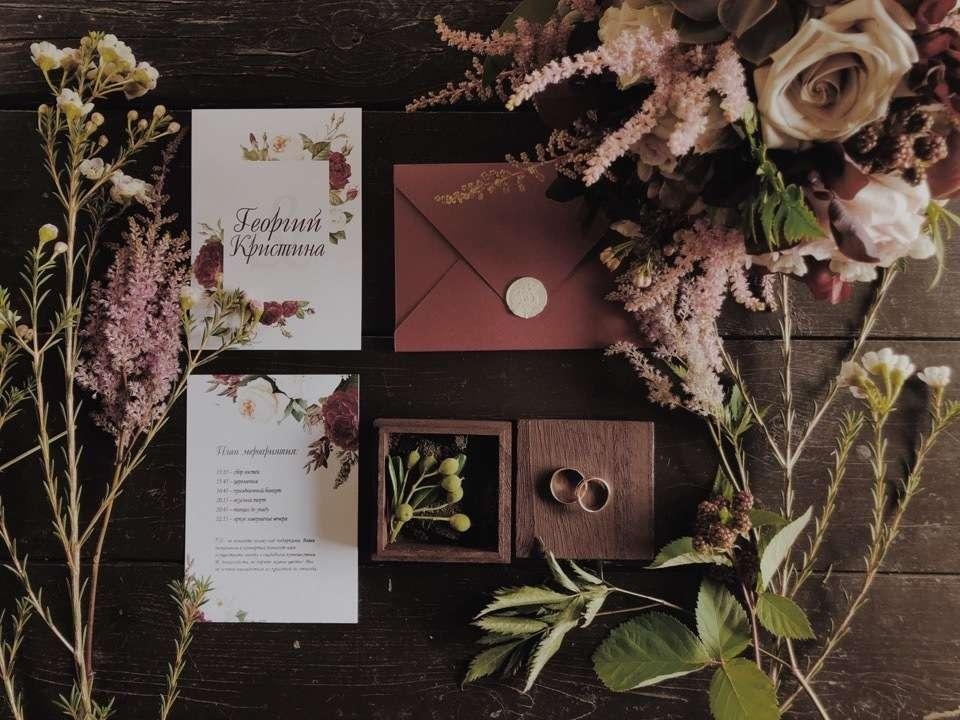 Фото 19095162 в коллекции Портфолио - Свадебные приглашения от Нины Лыковой