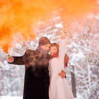Зиняя свадебная фотосъемка в Новосибирске. Фотограф Черных Сергей.
