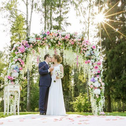 Организаця свадьбы в парк-отеле