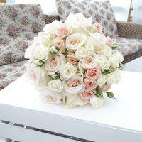 Букет неевсты из роз