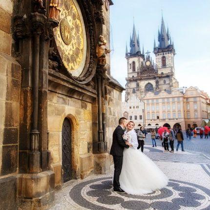 Официальная церемония в Праге в Староместской ратуше