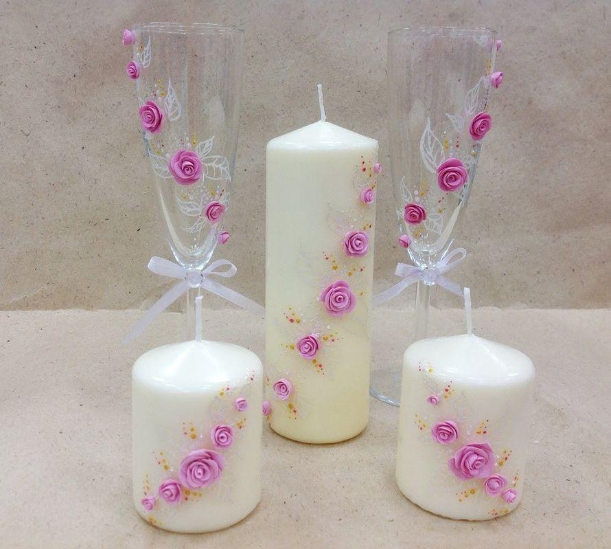 Украшаем свечи своими руками мастер класс
