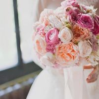 Букет для невесты Анастасии 10.09.2016