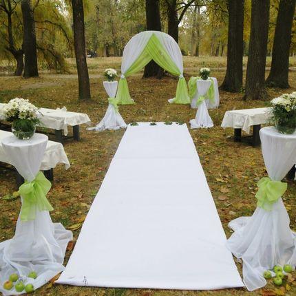 Арка и стол для росписи на выездную церемонию