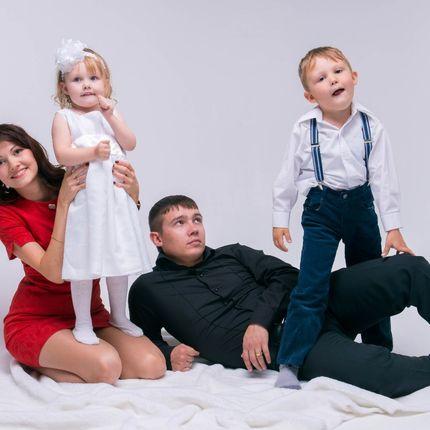 Семейная фотосессия 1 час