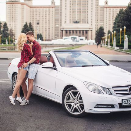 Кабриолет Mercedes-benz E-classe