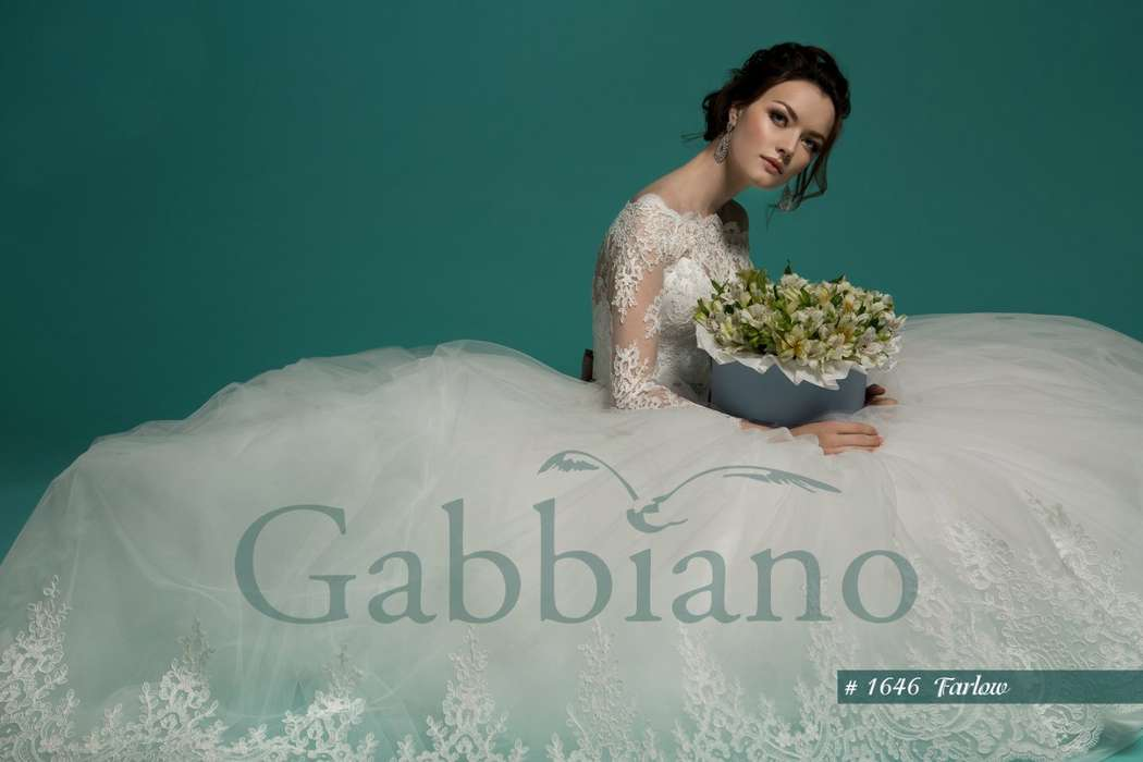 Фото 8930348 в коллекции коллекция Bohemia 2016 от Gabbiano - свадебный салон Хельга