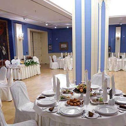 """Аренда зала """"Голубая гостиная"""""""