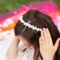Ободок невесты ручной работы