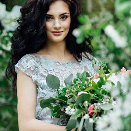 Букет невесты и веночек