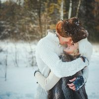 love-story зимой