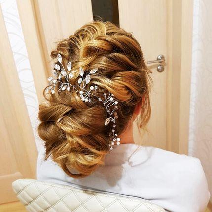 Причёска для гостей 30 минут