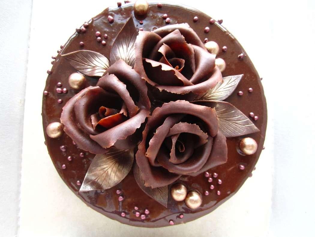Шоколадные узоры для украшения торта фото