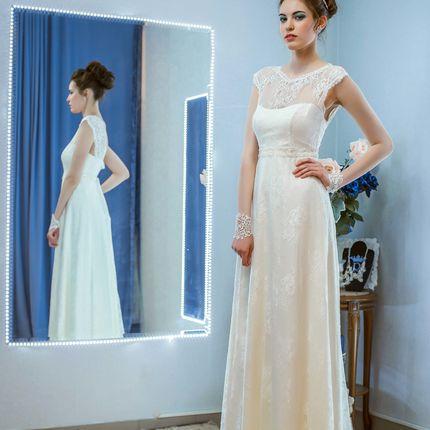 Дизайнерское свадебное платье, арт.201621