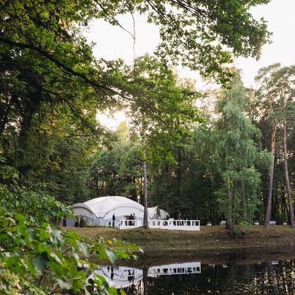 Открытая площадка для свадьбы до 100 гостей