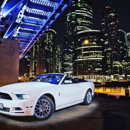Кабриолет Ford Mustang