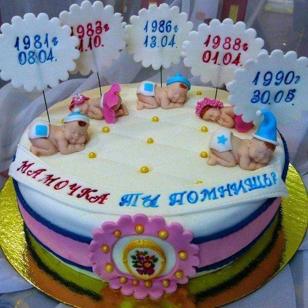 Торт своими руками на день рождение маме