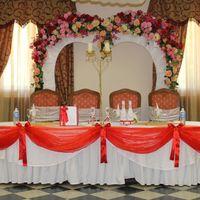 Свадебные арки, оформление столов