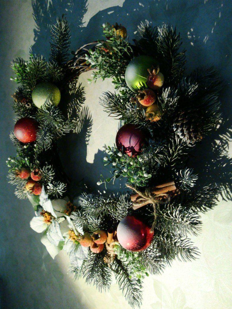 Рождественский венок - фото 9450224 Мастерская флорариумов Юлии Шумилкиной