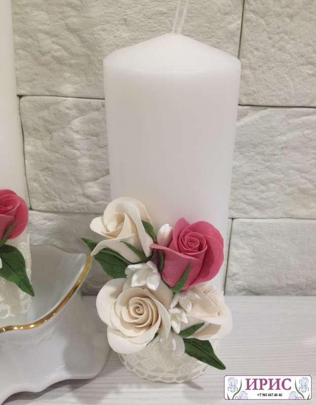 """Фото 9394146 в коллекции Свадебные фужеры, свечи - Мастерская аксессуаров из глины """"Ирис"""""""