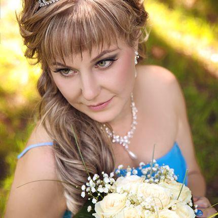 Свадебный макияж визаж