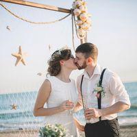 свадьба на море, свадьба в Абхазии, свадебная церемония в Абхазии