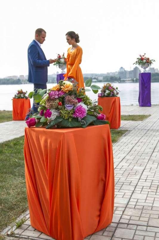 Фото 9440510 в коллекции Цвет свадьбы: Оранжевый - Свадебное агентство Лантан