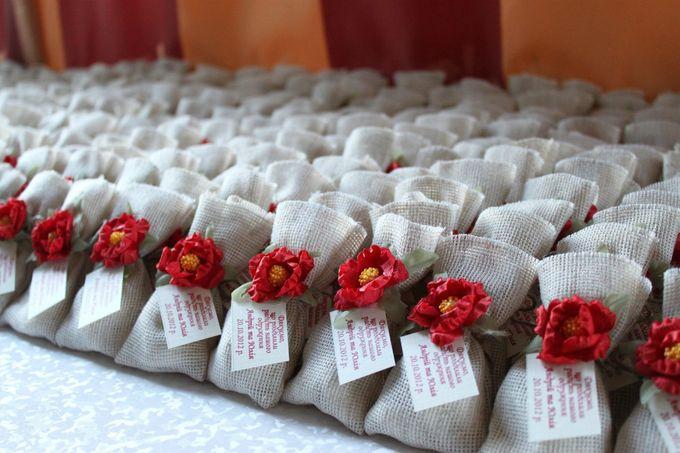 Подарок на свадьбу для гостей своими руками