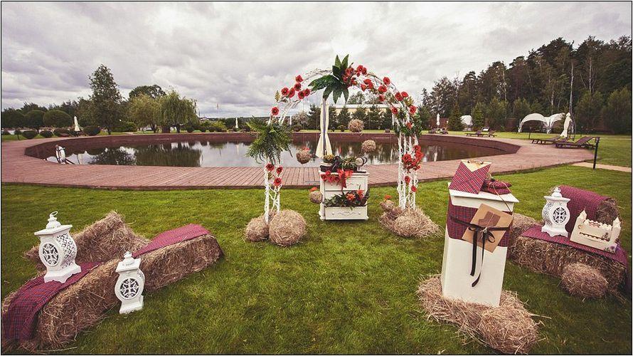 Фото 9448718 в коллекции Стиль свадьбы: РУСТИК - Свадебное агентство Лантан