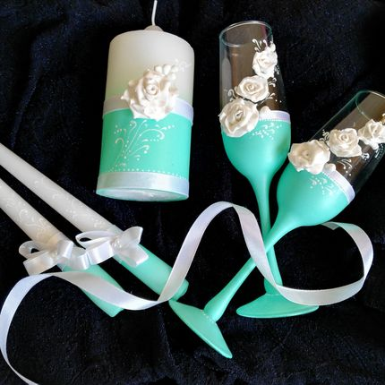 Свадебны аксессуары ручной работы