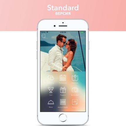 Пригласительное приложение, Standard версия