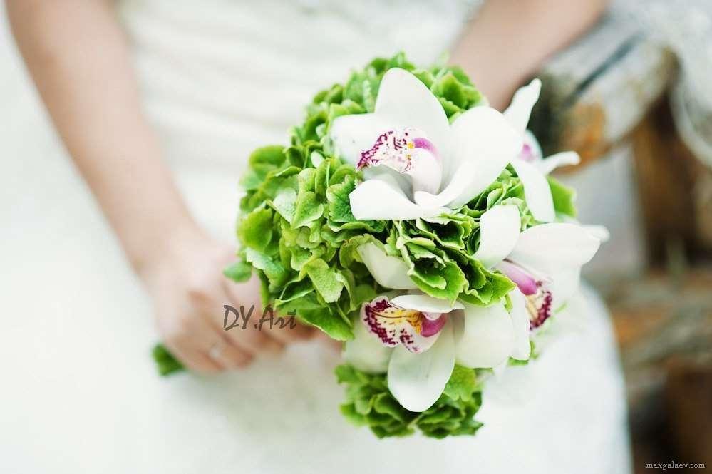 Фото 9604456 в коллекции Букет невесты, свадебный букет, бутоньерка, браслет - DY.Art