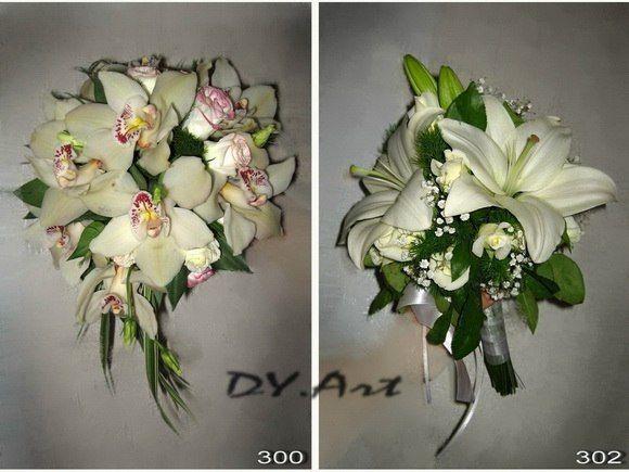 Фото 9604506 в коллекции Букет невесты, свадебный букет, бутоньерка, браслет - DY.Art