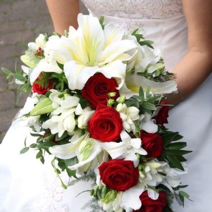 Букет невесты с экзотикой