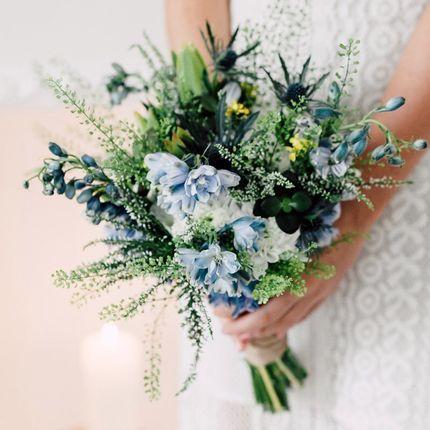 Букет невесты летний