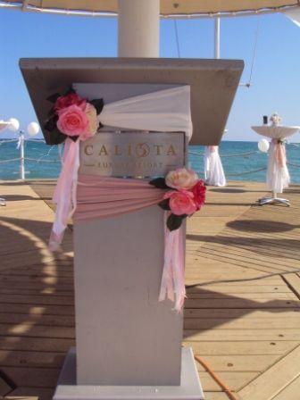 Оформление пирса - фото 1020061 TUANA Организация свадьб и торжеств в Анталии