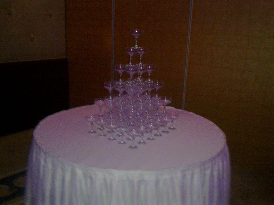 горка под шампанское - фото 1020085 TUANA Организация свадьб и торжеств в Анталии