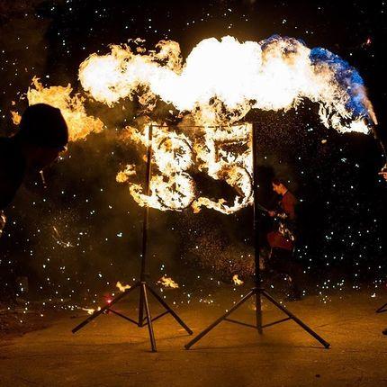 Огненные символы