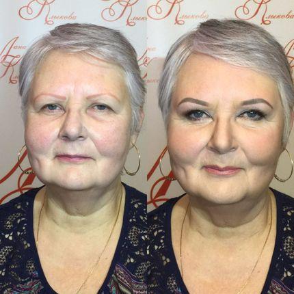 Причёска и макияж для мамы невесты