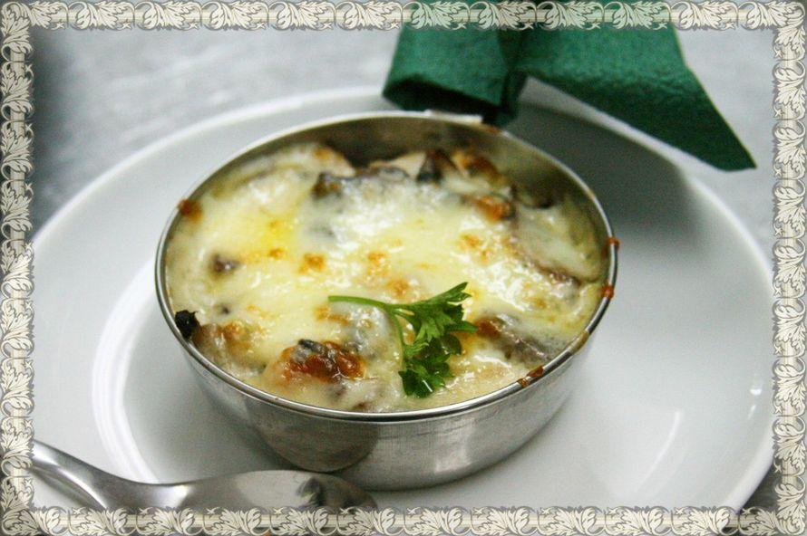Жюльен с белыми грибами рецепт с фото