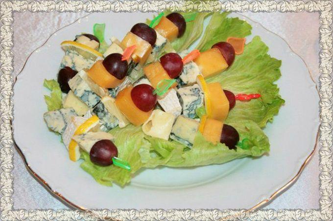Реепты салатов оригинальные с фото