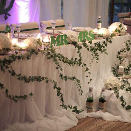 Оформление Свадьба в стиле рустик