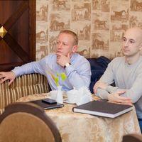 Наши видеографы, всегда незаметно сидят и тонко подходят к своей работе Дмитрий Метелев и Сергей Сурма