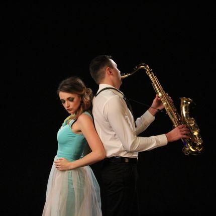 Выступление кавер-дуэта с саксофоном, от 2 до 5 часов