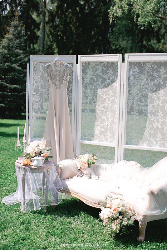 """Декор зоны """"Утро невесты"""""""