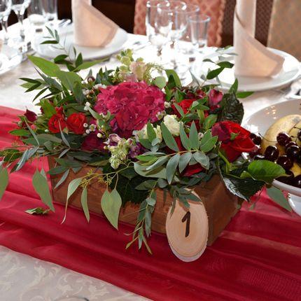 Цветочные композиции на стол, цена за 1 шт