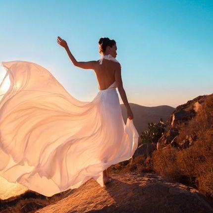 """Свадебное платье с камнями """"Розовый кварц"""""""